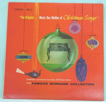 MUSIC BOX MEDLEY of CHRISTMAS SONGS LP 1976