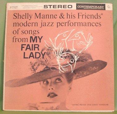 LOUNGE LP Shelly Manne MODERN JAZZ My Fair Lady