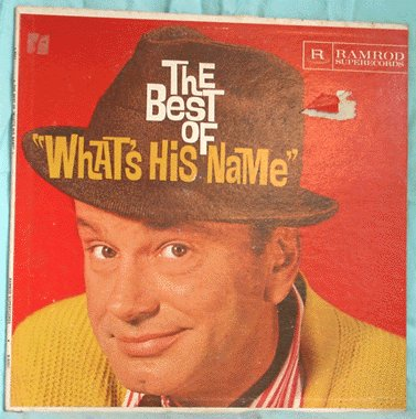 JACK PAAR LP Best of What's His Name RARE COMEDY