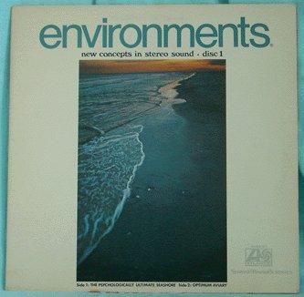 LP - ENVIRONMENTS 1 - Psychologically Ultimate Seashore '70