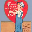 Vintage Valentine 1940s CARPENTER Chisel In WOODWORKING