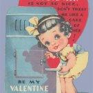 Vintage Valentine Card 1930s FRIGID AIR Frigidaire REFRIGERATOR
