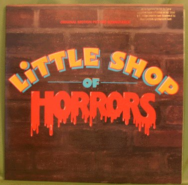 LITTLE SHOP OF HORROS LP Movie Soundtrack 1986
