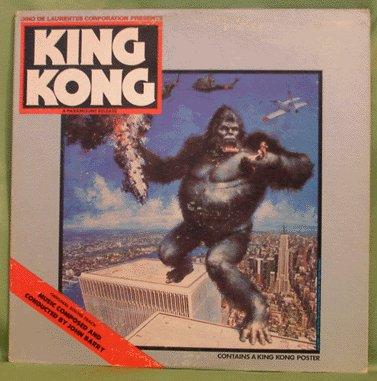 KING KONG Original Soundtrack JOHN BARRY 1976 no poster