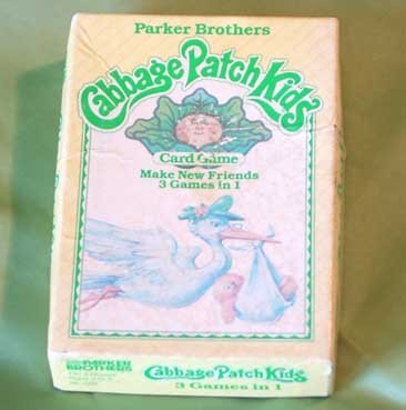 Vintage CABBAGE PATCH KIDS Card Game 1984