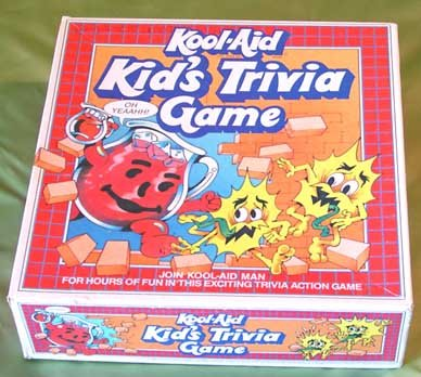Vintage 1985 KOOL-AID Kid's Trivia Game KOOLAID MAN Oh Yeah!