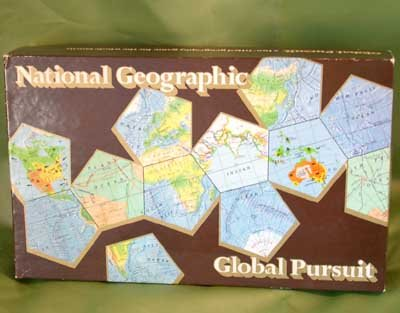 National Geographic GLOBAL PURSUIT GAME 1987