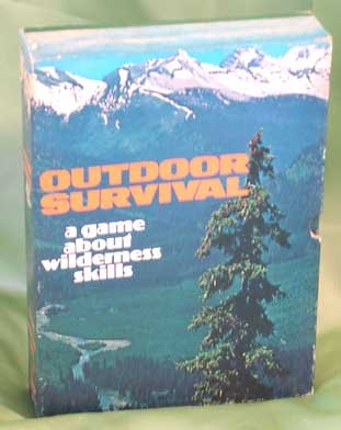 Vintage OUTDOOR SURVIVAL GAME Avalon Hill 1972