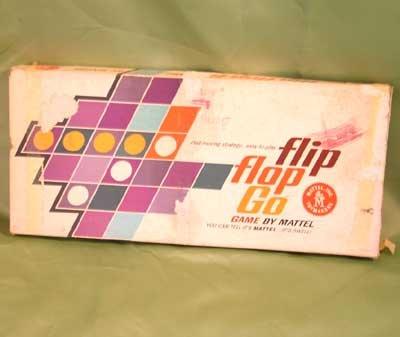 Vintage FLIP FLOP GO GAME Mattel 1962