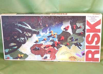 Vintage 1975 RISK GAME Parker Brothers