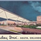 Vintage Postcard HOLIDAY INN Orlando Florida