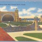 Vintage Postcard OCEAN FRONT PARK Daytona Beach FLORIDA