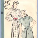 Vintage PATTERN Sewing HOLLYWOOD 1881 1940s 36B