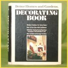 Vintage HOME DECOR Decorating Book BETTER HOMES and GARDENS Mod