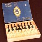 Vintage LOWE 810 Tournament CHESSMEN in BOX Chess