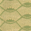 TIETEX Upholstery Fabric YELLOW GREEN Mod Curves BLEND