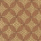 TIETEX Upholstery Fabric Upholstery Fabric CHANTAL Honey RUSSET TAN Abstract Daisy BLEND