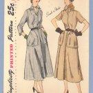 Vintage Pattern SIMPLICITY 2971 DRESS 36b Rockabilly