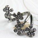 Vintage Inspired Rose Cluster Ring