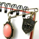 Vintage Inspired Coral Pin / Brooche