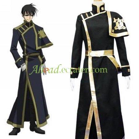 07-Ghost Barsburg Empire Uniform Cosplay Costume