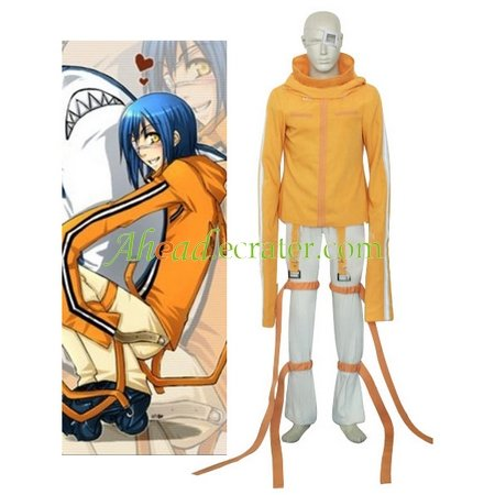 Air Gear Akito Halloween Cosplay Costume