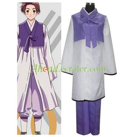 Axis Powers Korea Im Yong Soo Cosplay Costume