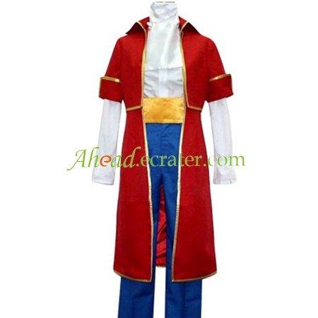 Hetalia Axis Powers Austria Roderich Red Costume