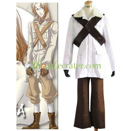 Hetalia Axis Powers Canada Matthew Cosplay Costume
