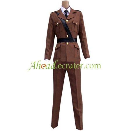Hetalia Axis Powers France Cosplay Costume 1