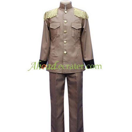 Hetalia: Axis Powers Latvia Galante Cosplay Costume