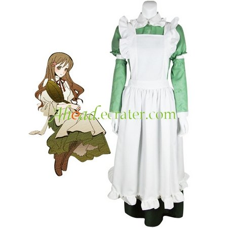 Hetalia Axis Powers Little Italy Maid Cosplay Costume