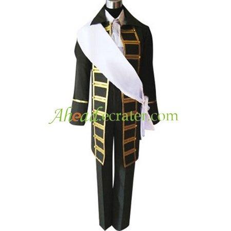 Hetalia Axis Powers Spain Cosplay Costume