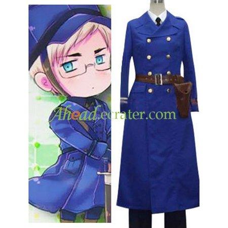 Hetalia Axis Powers Sweden Cosplay Costume