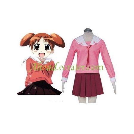 Azumanga Daioh Halloween Cosplay Costume red