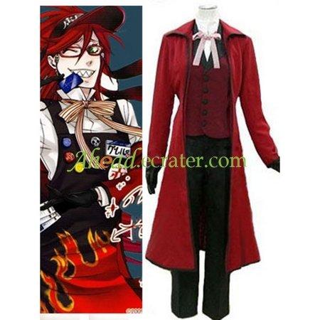Black Butler Gureru Sutcliffe Halloween Cosplay Costume