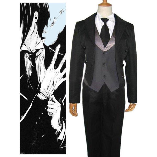 Black Butler Kuro Shitsuji Halloween Cosplay Costume