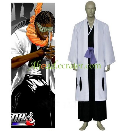 Bleach 9th Division Captain Tousen Kanamei Cosplay Costume
