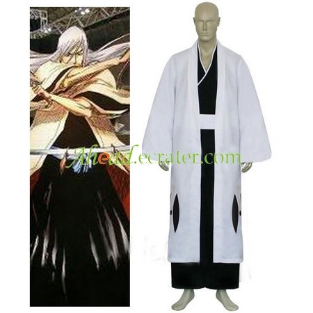 Bleach 13th Division Captain Ukitake Juushiro Halloween Cosplay Costume