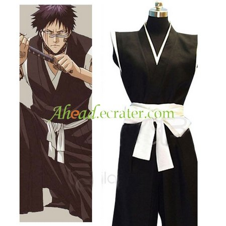 Bleach Hisagi Shuuhei Men's Halloween Cosplay Costume