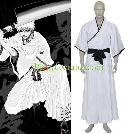 Bleach Ichigo Kurosaki Non-Bankai Hollow Form Halloween Cosplay Costume