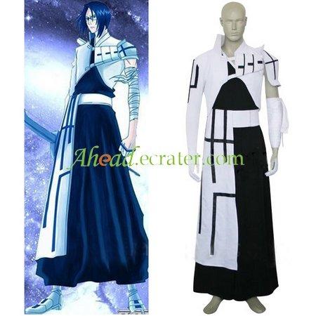 Bleach Uryuu Ishida Halloween Cosplay Costume