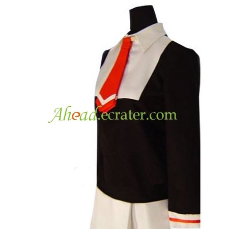 Cardcaptor Sakura Sakura Kinomoto Autumn Uniform Cosplay Costume
