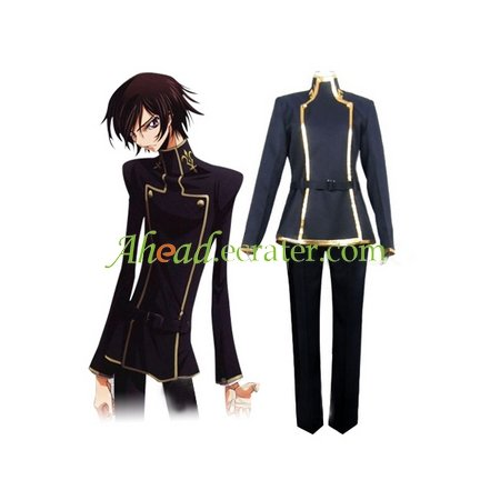 Code Geass Handmade Succinct Halloween Cosplay Costume