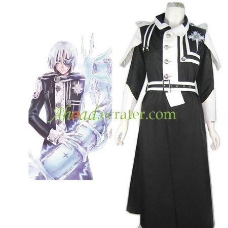 D.Gray Man Allen Walker Cosplay Costume Type B