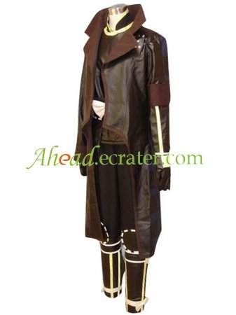 Devil Kings 2 Katakura Kagetsuna Halloween Cosplay Costume