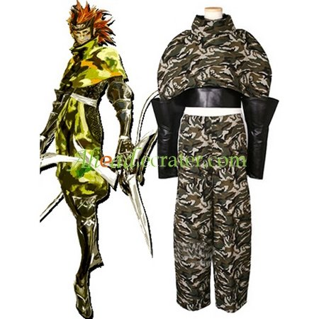 Devil Kings Sarutobi Sasuke Cosplay Costume