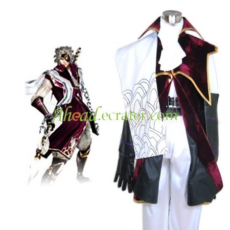 Devil Kings Sengoku Basara 2 Chosokabe Motochika Arslan Cosplay Costume