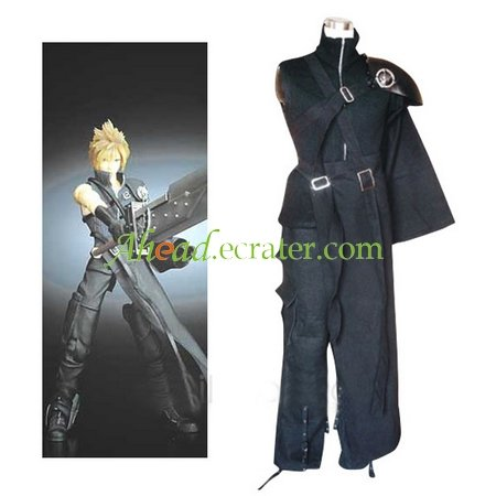 Final Fantasy VII Cloud Halloween Cosplay Costume