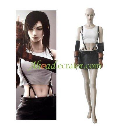 Final Fantasy VII Tifa Lockhart Cosplay Costume